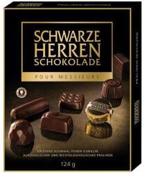 Sarotti Schwarze Herren Schokolade Dunkle Pralinés Mischung (124g)