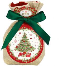 Heidel Weiße Weihnacht Geschenk-Säckchen (151g)