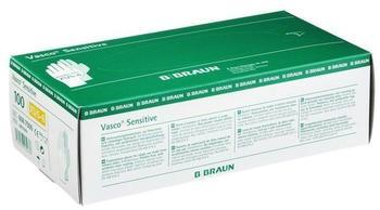 B. Braun Vasco Sensitive Latex-Untersuchungshandschuhe puderfrei Gr. XS (100 Stk.)