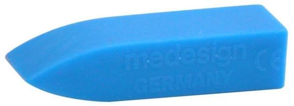 Medesign Mundkeil Standard Blau 20 x 25 x 90 mm