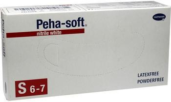 Hartmann Peha Soft Nitrile White unsteril puderfrei (100 Stk.)