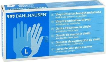 Dahlhausen Vinyl Handschuhe ungepudert Gr. L (100 Stk.)