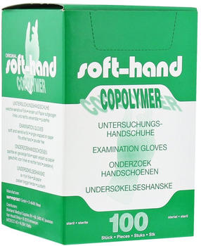 Büttner-Frank Handschuhe Einmal Copolymer Steril Gr.M (100 Stk.)