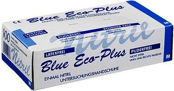Param Handschuhe Einmal Nitril Blau mittel (100 Stk.)