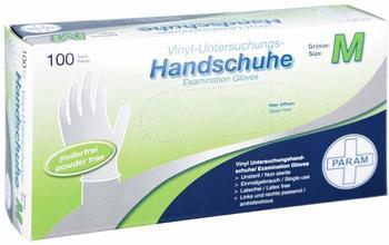 Param Handschuhe Einmal Vinyl puderfrei Gr. M