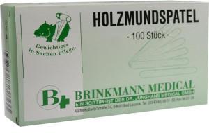 Dr. Junghans Medical Holzmundspatel 16 Cm (100 Stk.)