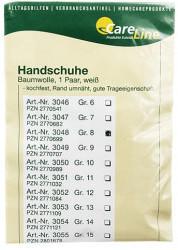 CareLine Handschuhe Baumwolle Gr.8 (2 Stk.)