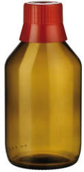 Wepa Apothekenbedarf Wepa Aponorm Medizinflasche mit Gießring 1000 ml