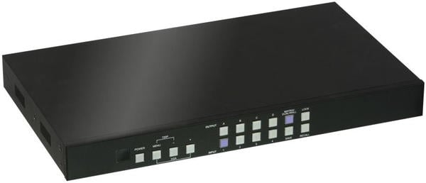 Lindy 38131 HDMI 2x2 Video Wall Matrix Controller - 4 In 4 Out