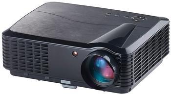 SceneLights LED-LCD-Beamer LB-9300 V2 mit Media-Player, 1280 x 800 (HD), 2.800 lm