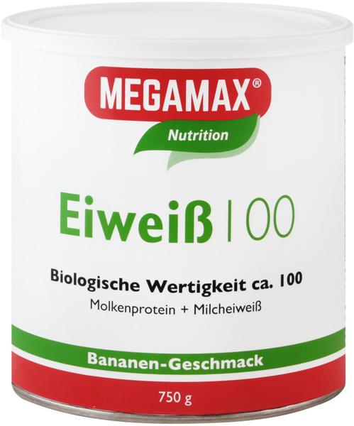 Megamax Eiweiss 100 Banane Pulver (750 g)