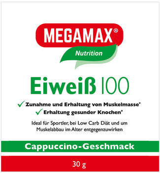 megamax-eiweiss-100-cappuccino-pulver-30-g