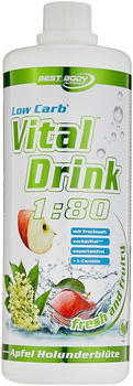 Best Body Nutrition Low Carb Vital Drink Lemon Lime 1000ml