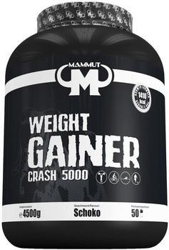 Mammut Best Body Weight Gainer Crash 5000 4500g Vanilla