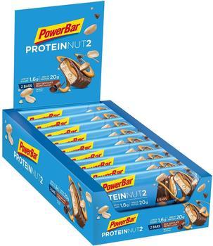 PowerBar Protein Nut2 Milk Chocolate Peanut Riegel 18 x 60 g