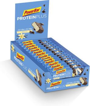 PowerBar Protein Plus Low Sugar Riegel Vanilla 35g