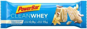 PowerBar Clean Whey Vanilla Coconut Crunch 18 x 45g 2018 Riegel & Waffeln