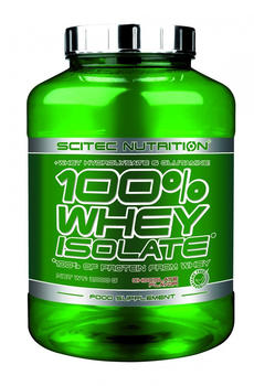 Scitec Nutrition 100% Whey Isolate, 2000 g Dose Coconut