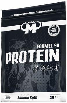 Mammut Nutrition Mammut Formel 90 Protein, Banana Split, 1000 g Beutel