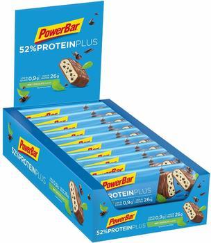 PowerBar 52% Riegel Box Chocolate Mint 20 x 50g 2018 Riegel - Waffeln