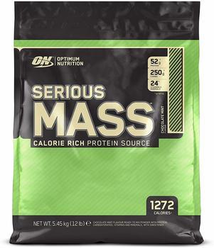 Optimum Nutrition Serious Mass (12lbs) Chocolate Mint, 5,4 kg