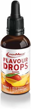 ironMaxx Flavour Drops - Flasche - Mango