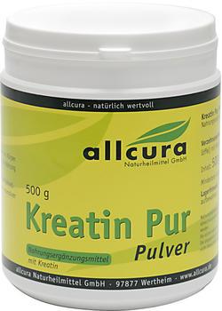 Allcura KREATIN PUR Pulver Premium Qualität