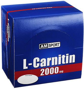 MARK WARNECKE GMBH AMSPORT L-Carnitin 2000mg