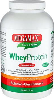 MEGAMAX WHEYPROTEIN Lactosefrei Vanille Pulver 1200 g