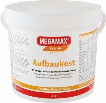 MEGAMAX Aufbaukost Vanille Pulver 3 kg