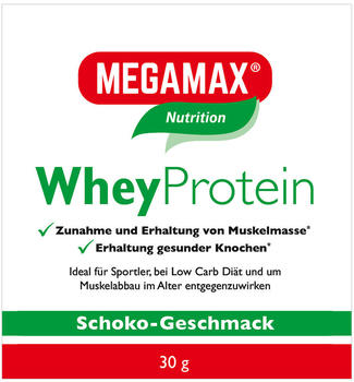 MEGAMAX WheyProtein Lactosefrei Schoko Megamax