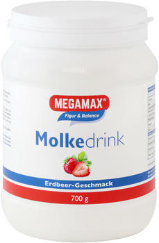 Megamax Molke Drink Megamax Erdbeere Pulver (700 g)