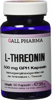 GALL PHARMA L-Threonin 500 mg GPH Kapseln 60 Stück