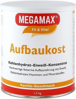 Megamax Aufbaukost Vanille Pulver (1500 g)