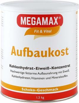Megamax Aufbaukost Schoko Pulver (1500 g)