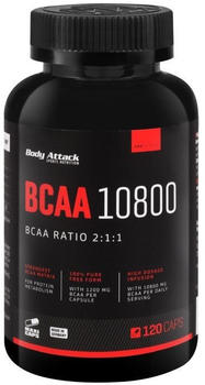 Body Attack BCAA 10800 120 Caps