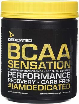 Dedicated Nutrition BCAA Sensation 345 g Strawberry Kiwi Orange