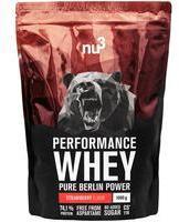 nu3 Performance Whey Erdbeere - 1000 g