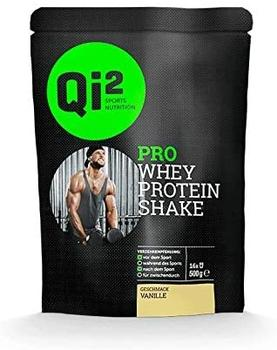 Qi² Sports Nutrition Pro Whey Protein Shake Vanille
