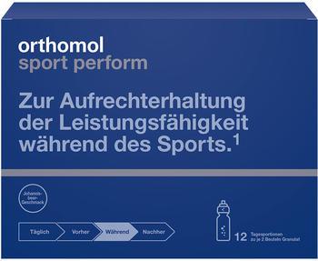 Orthomol Sport Perform Granulat Beutel (12 x 2 Stk.)