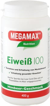 Megamax Eiweiss 100 Himbeer Quark Pulver (400 g)