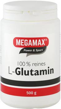 Megamax Glutamin 100% Rein Pulver (500 g)