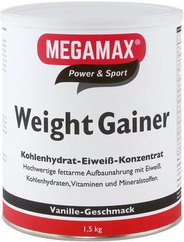 Megamax Weight Gainer Vanille 1500g
