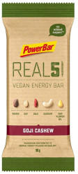 PowerBar Real 5 Vegan Energy Bar 65g Goji Cashew