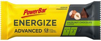 PowerBar Energize Advanced 55 g hazelnut chocolate