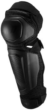 Leatt 3DF Hybrid Knie Protektion EXT - schwarz
