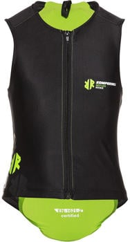 Komperdell Junior Super ECO Weste schwarz/lime