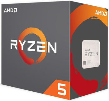 AMD Ryzen 5 1600 3,2 GHz Box (YD1600BBAEBOX)