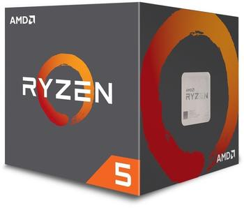 AMD Ryzen 5 1500X 3,5 GHz Box (YD150XBBAEBOX)