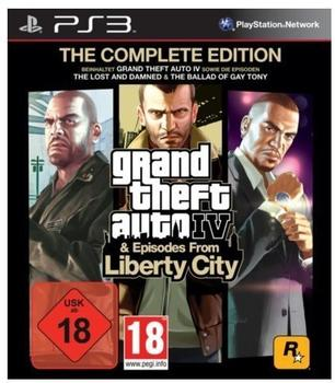 Rockstar Grand Theft Auto IV - Complete Edition (PS3)